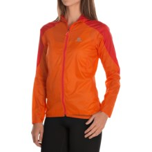 Salomon Fast Wing Hoodie - UPF 50 (For Women) in Capucine Orange/Red - Closeouts