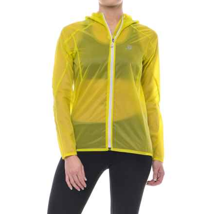 Salomon Fast Wing Hoodie - UPF 50 (For Women) in Yuzu Yellow - Closeouts