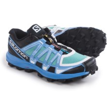 Salomon Fellraiser Trail Running Shoes (For Women) in Topaz Blue/Petunia Blue/White - Closeouts