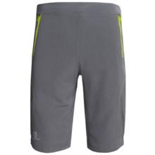 Salomon Float Shorts - UPF 50+ (For Men) in Dark Cloud/Organic Green - Closeouts