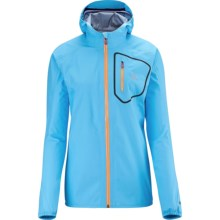 Salomon Gore-Tex® Active Shell Jacket (For Women) in Score Blue - Closeouts