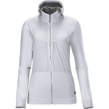 Salomon Gualea Hooded Jacket (For Women) in White - Closeouts