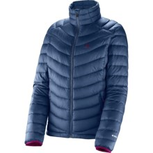 Salomon Halo II Down Jacket - 700 Fill Power (For Women) in Abyss Blue - Closeouts