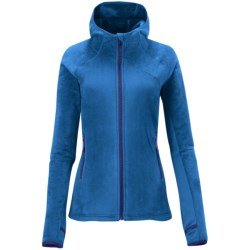 Salomon High Pile Hoodie Jacket (For Women) in Vibrant Blue