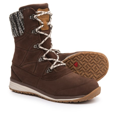 Salomon Hime Mid Leather Climashield(R) Snow Boots - Waterproof, Insulated (For Women)