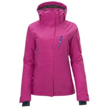 Salomon Inside Jacket - Waterproof, Insulated (For Women) in Fancy Pink - Closeouts