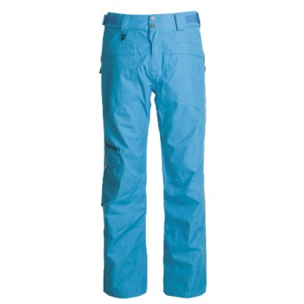 Salomon Instinct 2-Layer Snow Pants - Waterproof (For Men) in Electric Blue