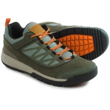 Salomon Instinct Travel Shoes - Nubuck (For Men) in Tempest/Verdi Grey/Clementine-X - Closeouts
