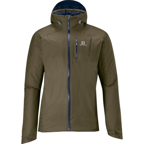Salomon Isotherm Jacket - Insulated (For Men) in Bayou Green