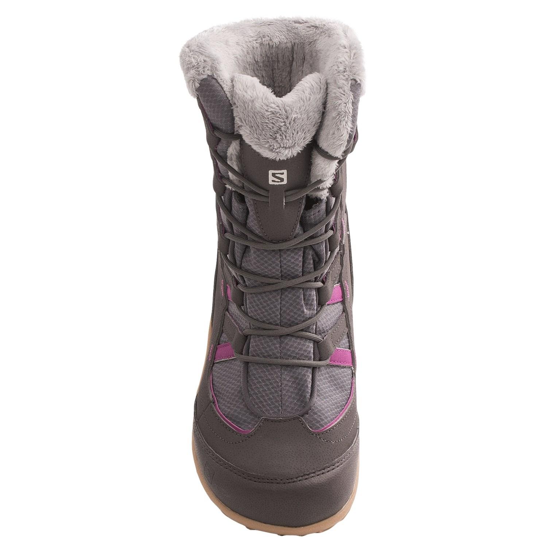 salomon ts cc winter boots for 7238p save 25