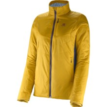 Salomon Minim Synth PrimaLoft® Jacket (For Women) in Dusty Sun/Abyss Blue - Closeouts