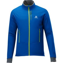 Salomon Momemtum Soft Shell Jacket (For Men) in Union Blue - Closeouts