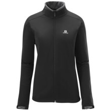 Salomon Nova Soft Shell Jacket (For Women) in Black - Closeouts