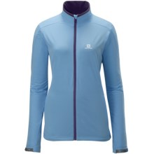 Salomon Nova Soft Shell Jacket (For Women) in Score Blue - Closeouts
