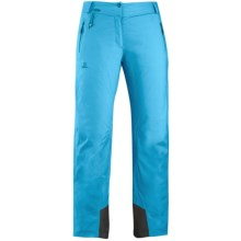 Salomon Odysee Gore-Tex® Pants - Waterproof, Insulated (For Women) in Score Blue - Closeouts