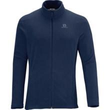 Salomon Panorama FZ Midlayer Fleece Jacket (For Men) in Big Blue X - Closeouts