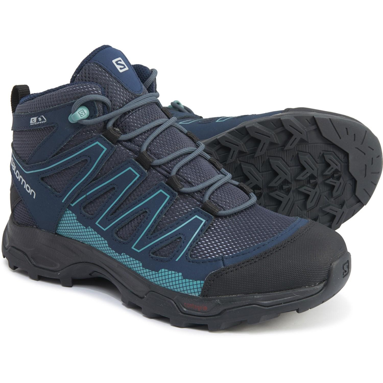 Salomon Pathfinder Mid Hiking Boots