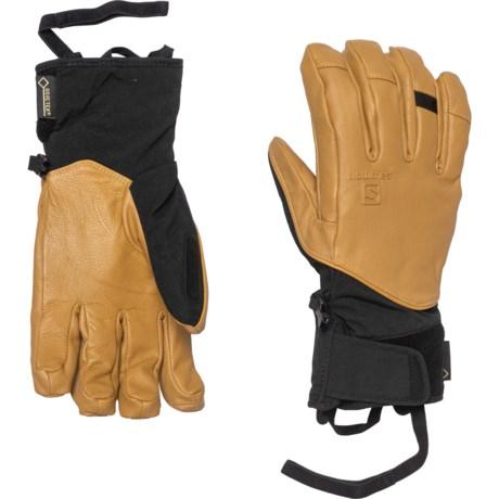 Salomon Mens QST GTX Gloves Pick SZ//Color.