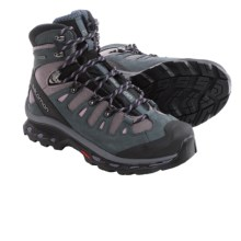 Salomon Quest 4D 2 Gore-Tex® Hiking Boots - Waterproof (For Women) in Crocus Purple/Grey - Closeouts