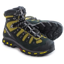 Salomon Quest 4D 2 Gore-Tex® Hiking Boots - Waterproof, Nubuck (For Men) in Ray/Black/Autobahn - Closeouts