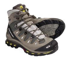 Salomon Quest 4D Gore-Tex® Hiking Boots - Waterproof (For Women) in Titanium/Swamp/Light Pistachio - Closeouts
