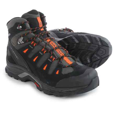 Salomon Quest Prime Gore-Tex® Hiking Boots - Waterproof (For Men) in Autobahn/Black/Tomato Red - Closeouts