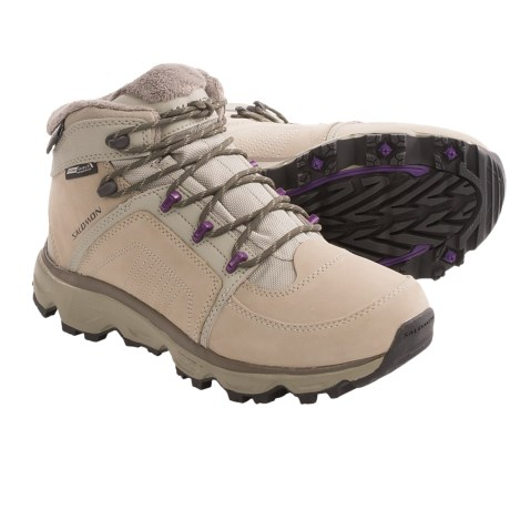 Salomon Rodeo CS Winter Boots Waterproof Insulated For Women