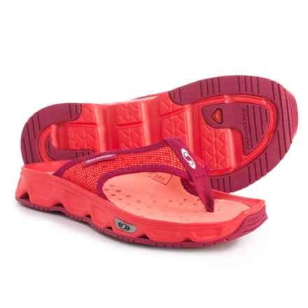 Salomon RX Break Sandals (For Women) in Poppy Red/Living Coral/Sangria - Closeouts