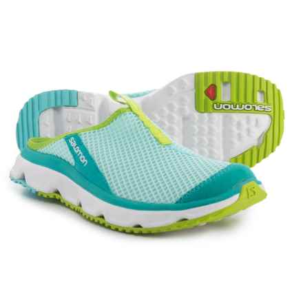 Salomon RX Slide 3.0 Sandals (For Women) in Aruba Blue/White/Lime Green - Closeouts