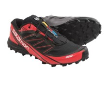 Salomon S-Lab Fellcross 3 Trail Running Shoes (For Men) in Black/Red/White - Closeouts