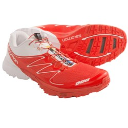 Salomon S-Lab Sense 2 Trail Running Shoes (For Men) in Red/White/Red