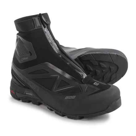 Salomon S-Lab X-Alp Gore-Tex® Black LTD Hiking Shoes - Waterproof (For Men and Women) in Black/Black - Closeouts