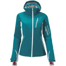 Salomon S-Line II PrimaLoft® Jacket - Waterproof, Insulated, Soft Shell (For Women) in Dark Bay Blue - Closeouts