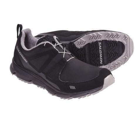 Salomon S Wind CS Trail Running Shoes (For Men) in Black/Aluminum