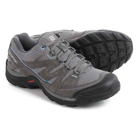 Salomon Savannah Hiking Shoes (For Women) in Detroit/Atob/Petunia Bl - Closeouts