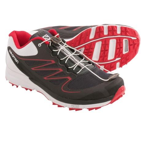 Salomon Sense Mantra Trail Running Shoes (For Women) in Asphalt/White/Dynamic