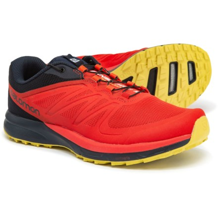 e99eab7af5ed Salomon Sense Pro 2 Trail Running Shoes (For Men) in Fiery Red Night