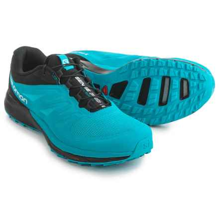 Salomon Sense Pro 2 Trail Running Shoes (For Men) in Scuba Blue/Black/White - Closeouts
