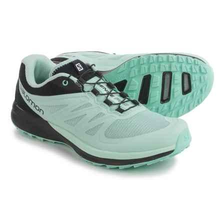 Salomon Sense Pro 2 Trail Running Shoes (For Women) in Igloo Blue/Igloo Blue/Black - Closeouts