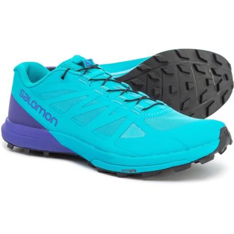 2debf0d3eb4951 Salomon Sense Pro 3 Trail Running Shoes (For Women) in Bluebird/Deep Blue