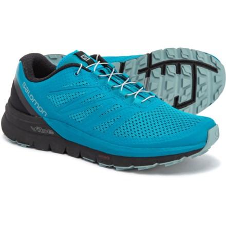 8f0d8680d871 Salomon Sense Pro Max Trail Running Shoes (For Men) in Fjord Blue Black