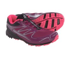 Salomon Sense Pro Trail Running Shoes (For Women) in Mystic Purple/Black/Flou Pink - Closeouts