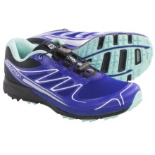 Salomon Sense Pro Trail Running Shoes (For Women) in Spectrum Blue/Black/Igloo Blue - Closeouts