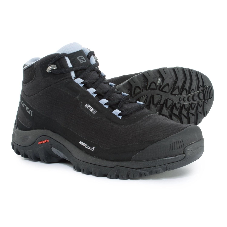 la moitié 384fc 997e2 Salomon Shelter CS Hiking Boots - Waterproof, Insulated (For Women)