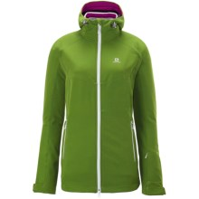 Salomon Snowflirt 3:1 Jacket - 3-in-1 (For Women) in Amphib Green/White - Closeouts