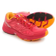 Salomon Sonic Aero Running Shoes (For Women) in Madder Pink/Lotus Pink - Closeouts