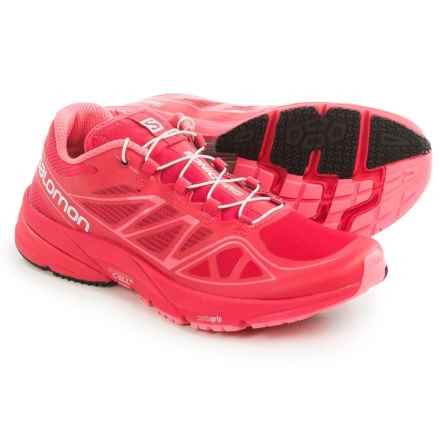 Salomon Sonic Pro Running Shoes (For Women) in Lotus Pink/Lotus Pink - Closeouts