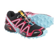 Salomon Speedcross 3 Climashield® Trail Running Shoes (For Women) in Black/Lotus Pink/Air - Closeouts