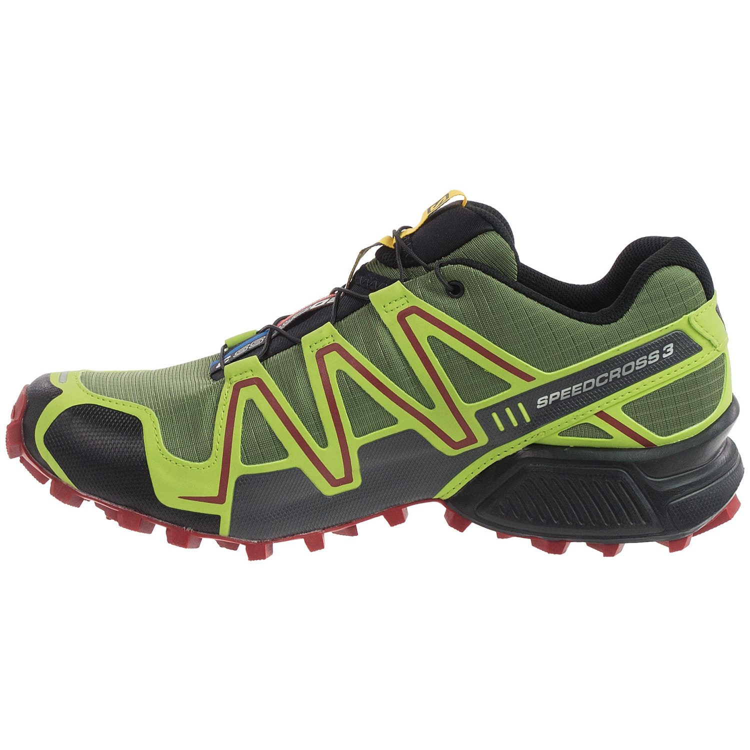 salomon speedcross 3 cs trail running shoes for men. Black Bedroom Furniture Sets. Home Design Ideas