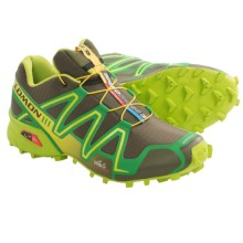 Salomon Speedcross 3 Trail Running Shoes (For Men) in Bayou Green/Green/Yellow - Closeouts